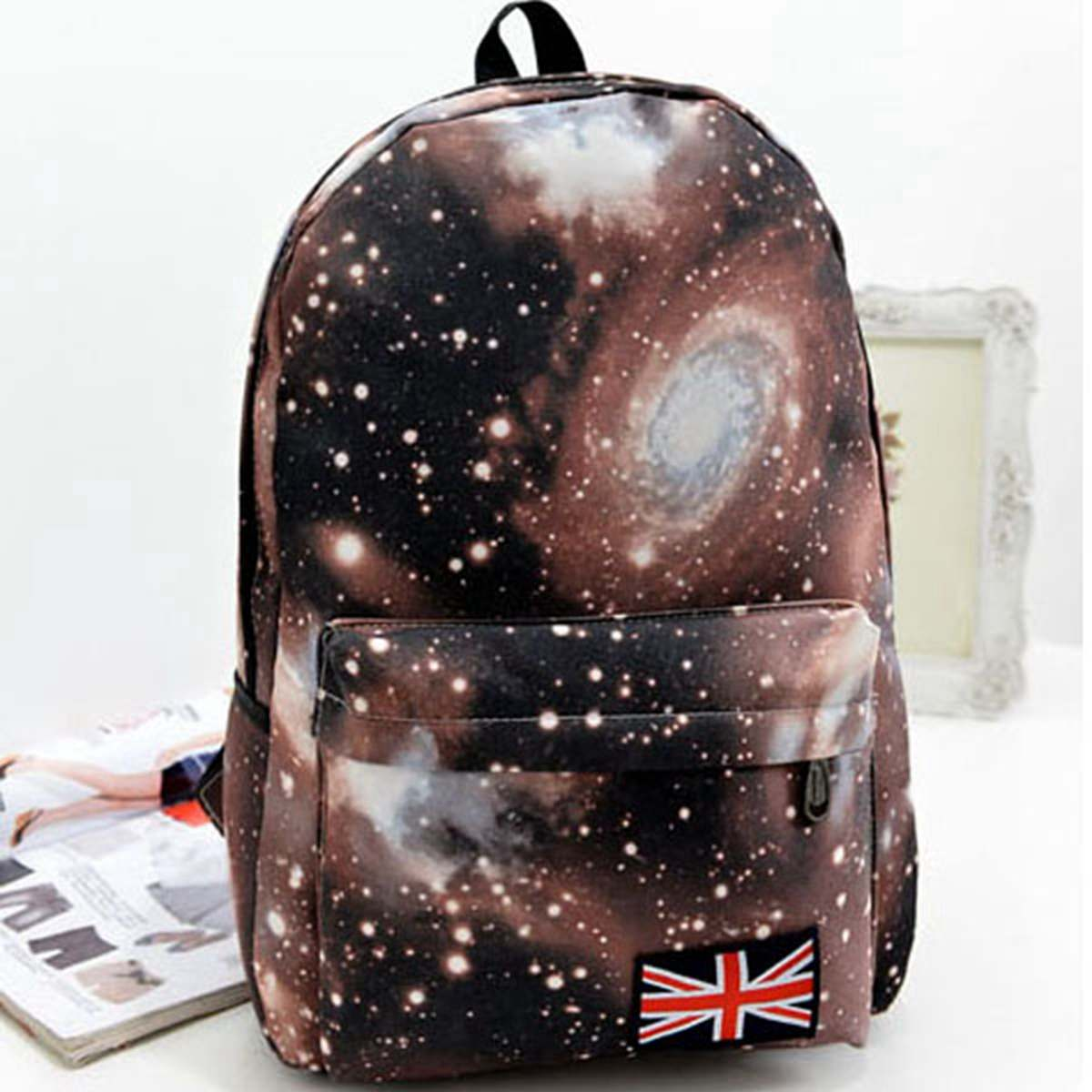 Aequeen Oxford Backpacks Schoolbags Book-Bag Girls Children Primary Printing Sac Ecolier