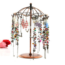 2017 New Multifunctional Umbrella Shape Jewelry Display Earring Bracelet Necklace Ring Display stand for earrings