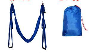 Image 5 - Balançoire de gymnastique de Yoga de Traction aérienne Anti gravité de trapèze dinversion de hamac de décompression de haute résistance accrochant 10 couleurs