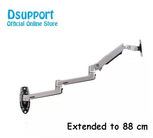 Wand Montieren Ultra Lange Aluminium Legierung Mechanische Frühling Arm Monitor Unterstützung Full Motion Monitor Halter Halterung