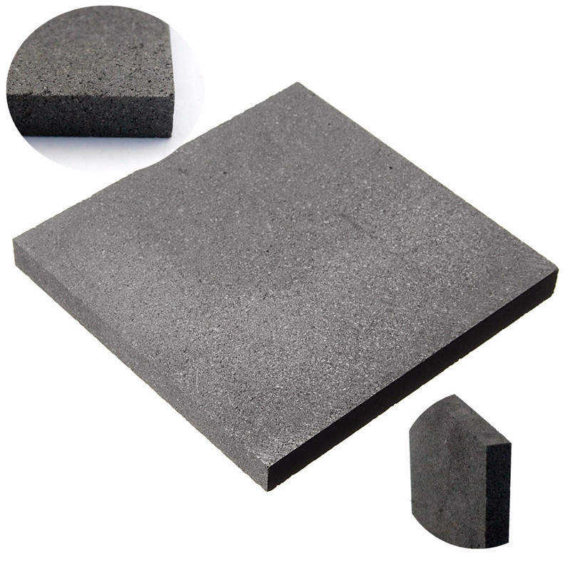 100*100*10mm High Purity Graphite Block Electrode Rectangle Plate Blank Sheet Low Price