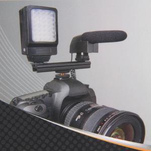 Image 5 - EasyHood ESE 20 20 cm 8 Máy Ảnh Nóng Lạnh Giày Mở Rộng Đường Sắt Thanh Khung cho Flash LED Video ánh sáng Microphone
