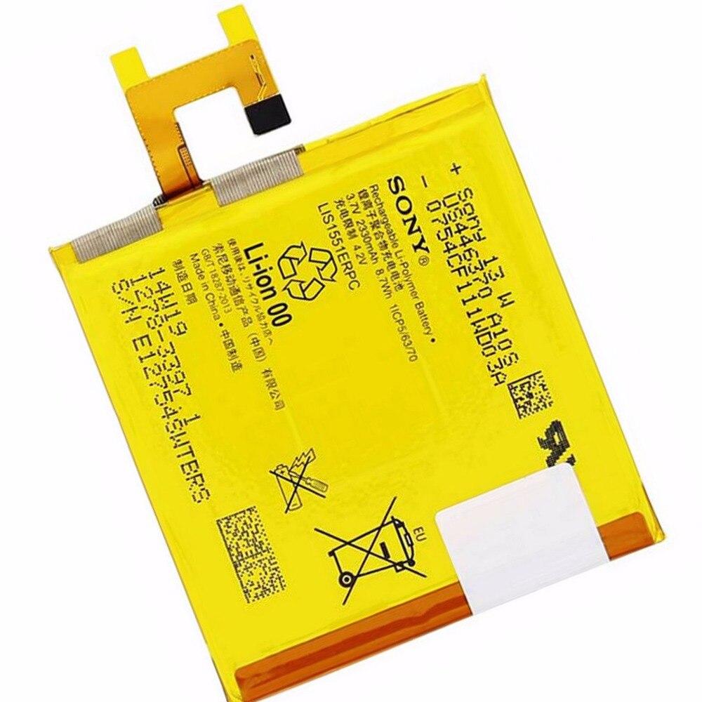 Original Sony Battery For Sony Xperia M2 E3 Aqua S50H D2303 D2306 E3  M2 Aqua 2330mAh