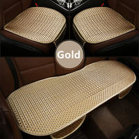 GSPSCN 3Pcs Set Universal Size Car Cushion Pad Fit For Most Cars Summer Cool Seat Cushion