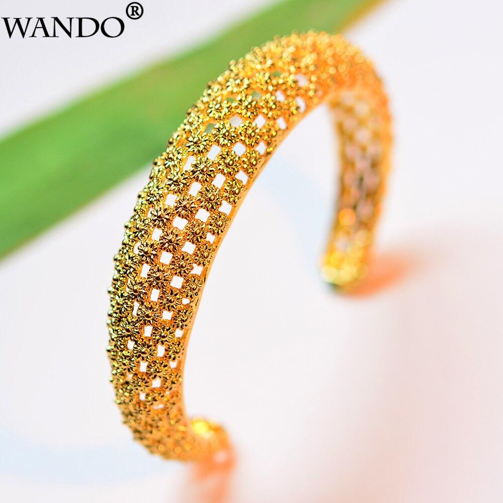 WANDO1pcs Gold Color Ethinc...