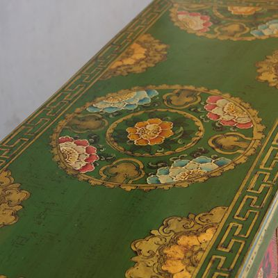 ... New Chinese Tibetan Furniture Painted Entrance Door To Do The Old Hall  Sideboard