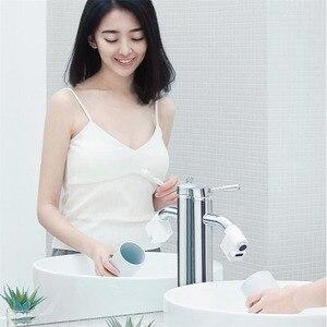 Image 4 - Youpin Zajia אינדוקציה מים שומר אינטליגנטי אינפרא אדום אינדוקציה מים ברז נגד הצפת מסתובב ראש מים חיסכון זרבובית ברז