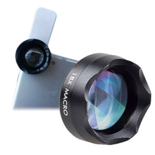 Orsda 18X Macro Lens for Closeup Pictures Universal Clip on Cell Phone Camera Le