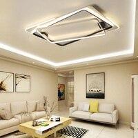 Творческий дистанционного управления современные светодиодные светильники потолочные акриловая для кухни спальня столовая освещения гос