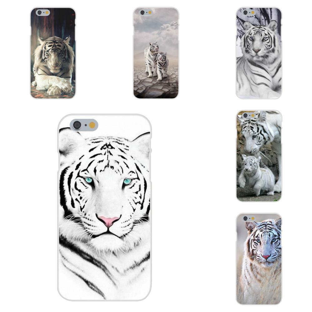 An Animal White Tiger Burning Bright For Huawei Honor 4C 5A 5C 5X 6 6A 6X 7 7A 7C 7X 8 8C 8S 9 10 10i 20 20i Lite Pro image