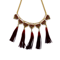 Summer Fashion Short Power Necklace New Design Imitation Leather Necklace Choker Jewelry Gift for Friends Women