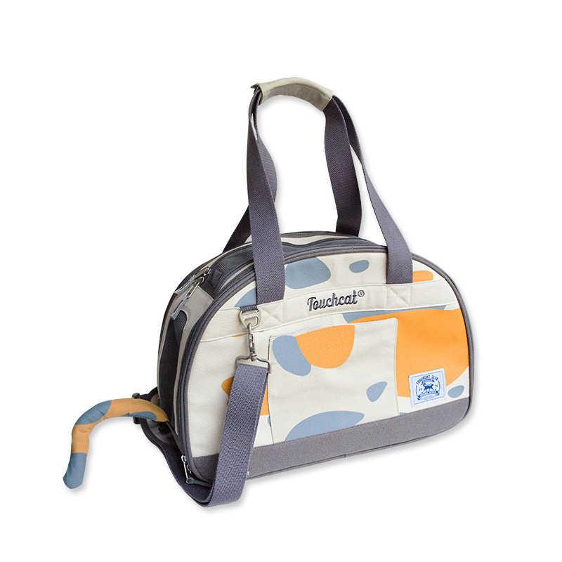 DannyKarl плюс размеры рюкзак для питомца, собаки Твердые ткань Оксфорд красная роза портативный Cat Carrier путешествия увеличенные сумка дышащий складной