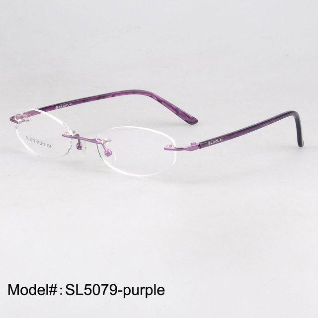 SL5079 óptico sin montura gafas de la Mujer gafas de miopía hipermetropía gafas gafas graduadas