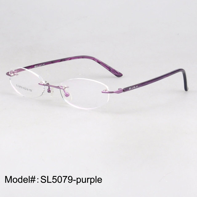 26465f1a36e SL5079 Woman s rimless optical eyewear myopia glasses hyperopia eyeglasses  prescription spectacles
