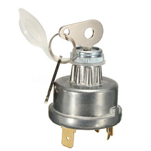 Brown Universal Tractor Ignition Switch Starter+2 Key For Massey Ferguson David Auto Interior Parts