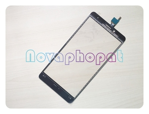 Image 2 - Novaphopat Golden Touchscreen For Infinix Note 3 X601 Touch Screen Digitizer Sensor Touch Panel Glass Screen Replacement