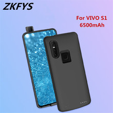 ZKFYS 6500mAh Fast Charging Power Bank Case For VIVO S1 High Quality Ultra Thin Charger Battery Cover