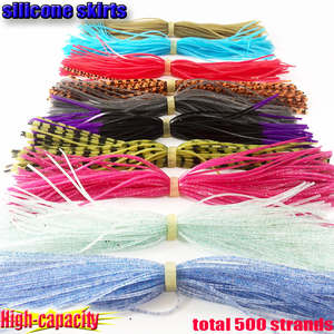 Skirts Silincone 50 400-Bundles Total-20000 Professional-Production Strands High-Capacity