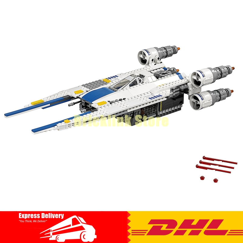 679pcs Lepin 05054 Star Genuine Series Wars U Star Wing Fighter Set Building Blocks Educational Bricks Kids DIY Child Toys 75155 конструктор lepin star plan истребитель повстанцев u wing 679 дет 05054