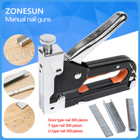 Multi Tool Nail Staple Gun Furniture Stapler For Wood Door Upholstery Framing Rivet Gun Kit Nailers