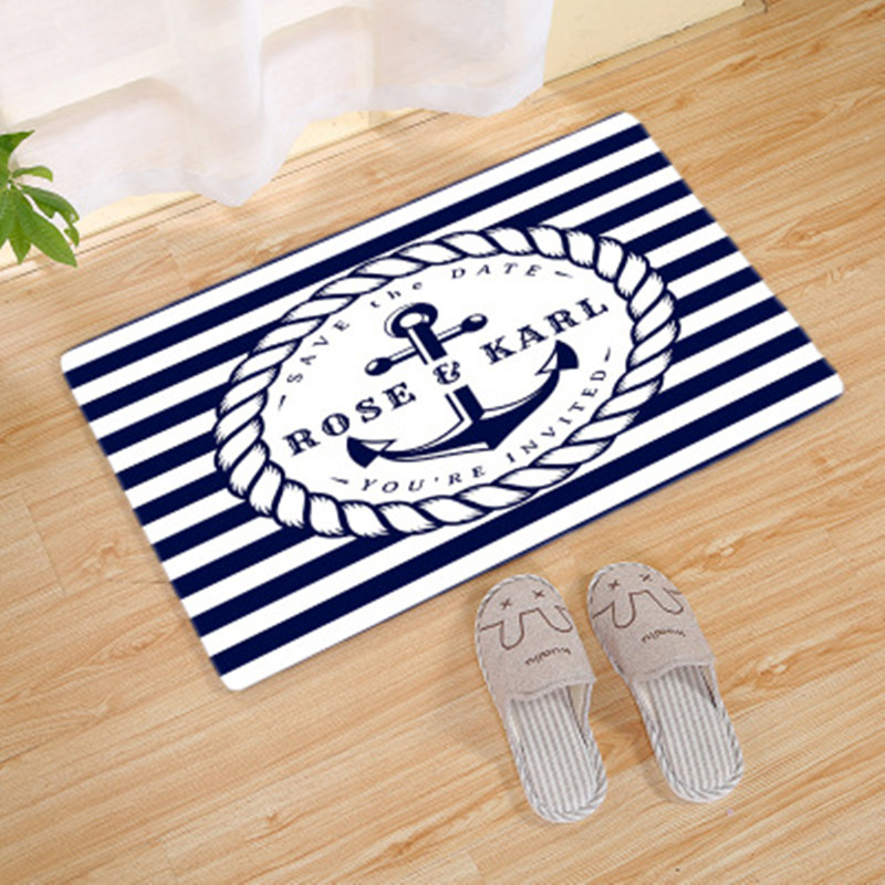Mediterranean style rugs and carpets for home living room rugs baby bedroom Crawl Game Rug Kids bathroom Anti-slip Mat alfombra