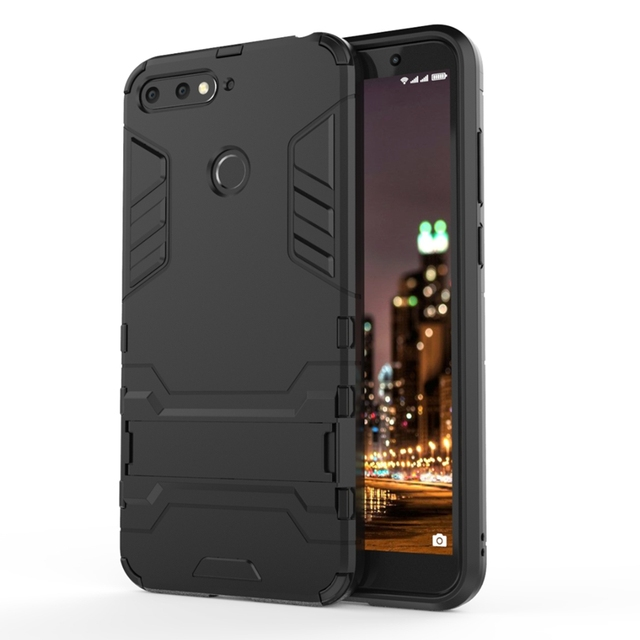 newest 69aac e7c8d US $2.99 40% OFF For Huawei Y6 2018 5.7