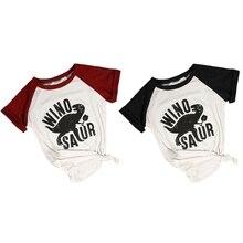 Women Casual Short Sleeve Dinosaur Print Top Round Neck Summer T-shirt casual short sleeve round neck lion print t shirt for women