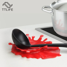 ФОТО ttlife new creative  ketchup shape  overnight ketchup mustard blood shaped spoon rest by mustard kitchen cooking aid cup holder
