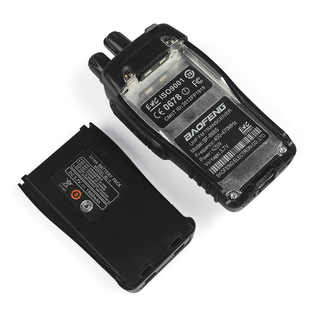 Image 5 - 1PC /2PCS Baofeng bf 888s Walkie Talkie Radio Station UHF 400 470MHz 16CH BF 888s Radio talki walki BF 888s Portable Transceiver-in Walkie Talkie from Cellphones & Telecommunications
