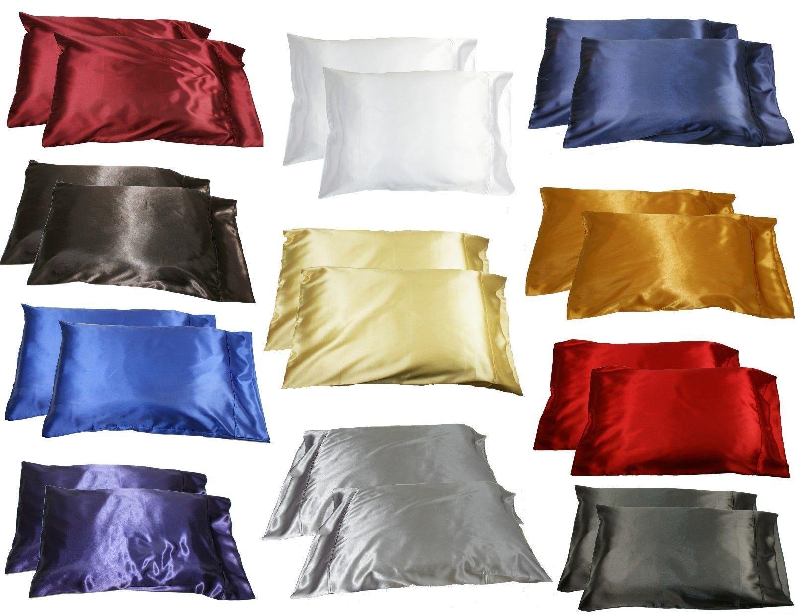 achetez en gros satin taie d 39 oreiller en ligne des grossistes satin taie d 39 oreiller chinois. Black Bedroom Furniture Sets. Home Design Ideas