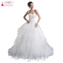 TANYA BRIDAL Floor Length Ball Gown Wedding Dress