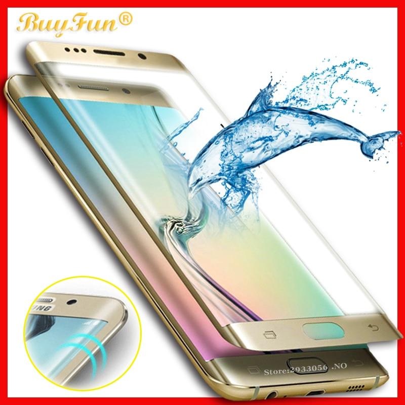 3D zakrivljeno kaljeno staklo za Samsung Galaxy S7 S6 Edge plus - Oprema i rezervni dijelovi za mobitele