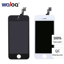 Grade AAA+++ For iPhone 5 5c 5S SE LCD Screen With 3D Force Touch Digitizer Assembly For iPhone 5S Display No Dead Pixel parts все цены