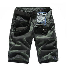 Summer Mens Camo Cargo Shorts Cotton Military Camouflage Male Jogger Board Shorts Fashion Breathable Cotton Business Short,2778(China)