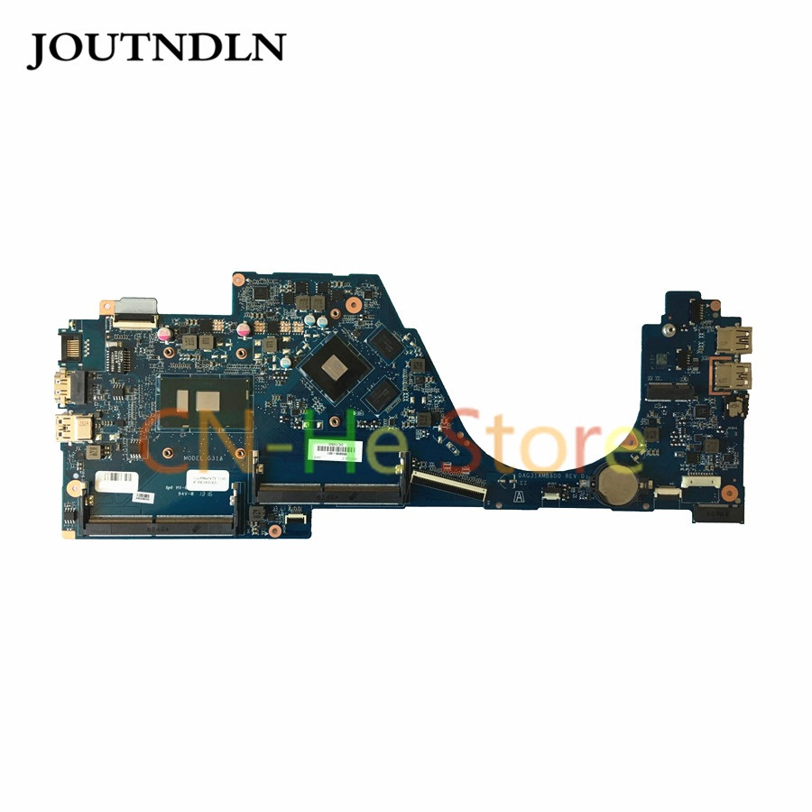 FOR HP PAVILION 14-AL Laptop Motherboard 855838-601 DAG31AMB6D0 W/ I7-6500U and <font><b>940MX</b></font> 4G GPU image