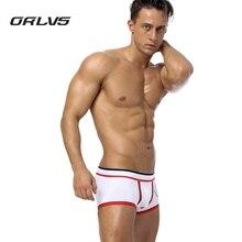 PENES ORLVS 5PC Sexy Men's Underwear Cotton Man's Boxer Briefs