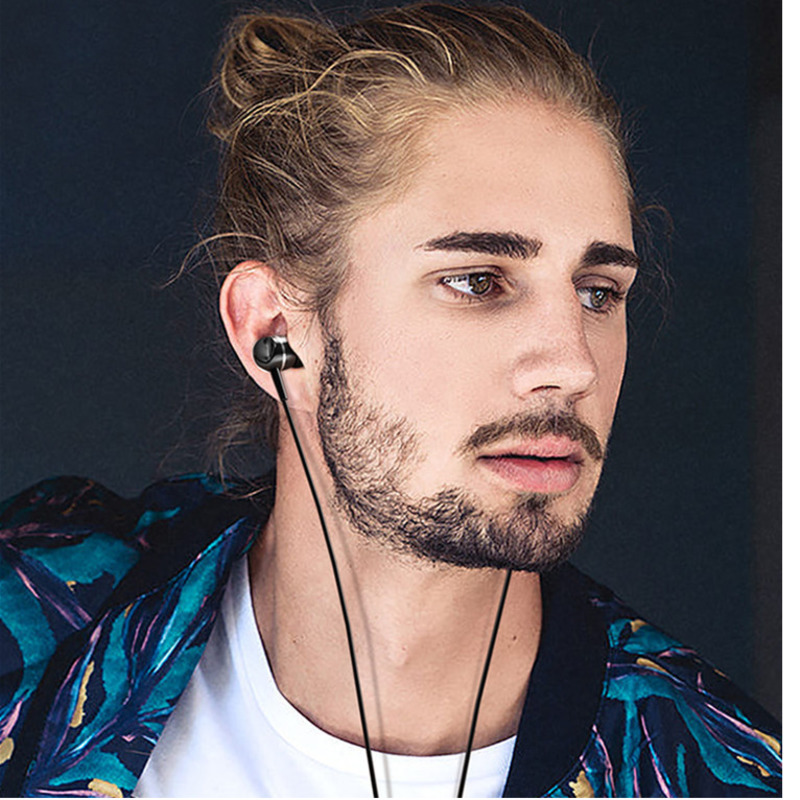 Music Stereo Earphone In Ear Sports Wired Control Earbuds Serious Bass K Song Earpiece With Mic Headset For Huawei Mi Redmi eh in Phone Earphones Headphones from Consumer Electronics