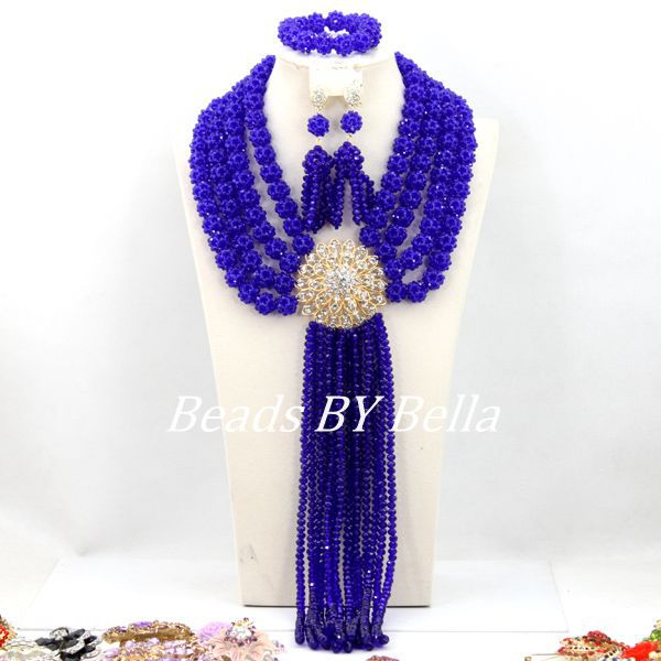 Fabulous Women Fashion Jewelry Set Wedding Party Beads Royal Blue Crystal Beads Balls African Jewelry Set Free Shipping ABY162Fabulous Women Fashion Jewelry Set Wedding Party Beads Royal Blue Crystal Beads Balls African Jewelry Set Free Shipping ABY162