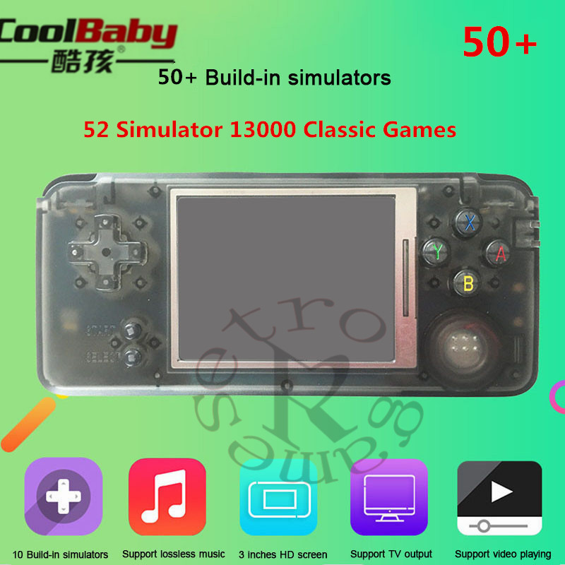 2019 NEW Portable Video Handheld Game Console 48GB Video Game Retro Handheld Game Player 52 Simulator 13000 Classic Games2019 NEW Portable Video Handheld Game Console 48GB Video Game Retro Handheld Game Player 52 Simulator 13000 Classic Games