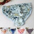 SALE! Pure silk Pattern Panties Women 100% Mulberry Silk Antibiotic Briefs M/L/XL FREE SHIPPING