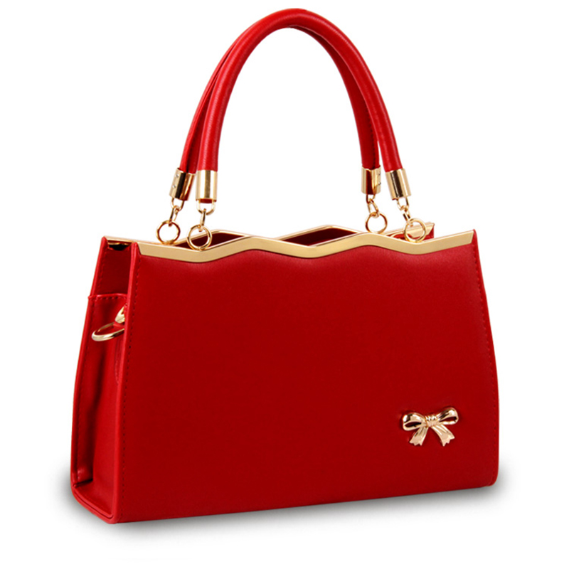aliexpresscom buy luxury women bow handbags fashion pu leather women bags cute candy solid color handbags sac a main femme de marque luxe kly8882 from - Sac A Main Color