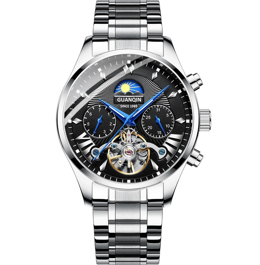 HTB1hWsiRhTpK1RjSZFKq6y2wXXaR GUANQIN 2019 clock men's/mens watches top brand luxury automatic/mechanical/luxury watch men gold tourbillon mens reloj hombre