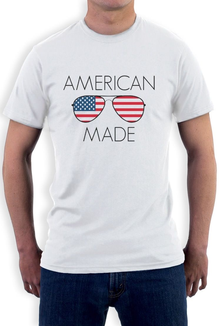 Design your own t shirt made in usa - Usa Shades Made In America Sunglasses July 4th T Shirt National Pride Funny
