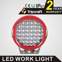 High Quality Super Bright 9 Inch 185W Led Work Light Fog Light 12v 24v Offroad SUV