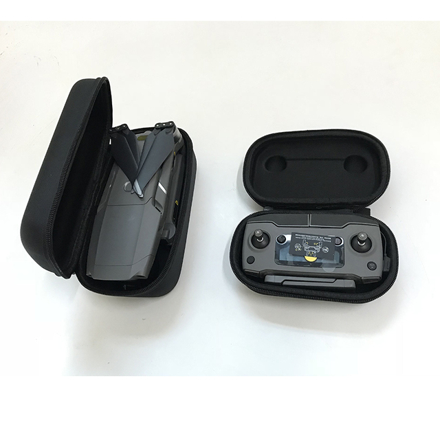 2 in 1 Durable Portable Hardshell Transmitter Controller Storage Box & Drone Body Bag Carring Case For DJI Mavic 2 Pro/Zoom