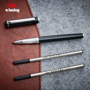 Image 3 - High End Winnende 598 Roller Ball Pen Met Geschenkdoos Zilver En Goud Clip 0.5Mm Teken Pennen De beste Cadeau Voor Business En Student