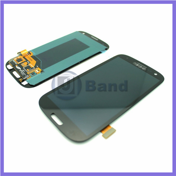 5pcs/lot For Samsung Galaxy S3 III i9300 i747 T999 L710 i535 R530 LCD display Touch Screen Digitizer Black White Blue DHL Free