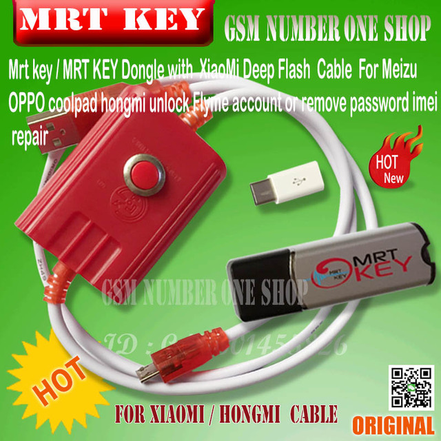 US $56 8 | MRT KEY mrt dongle key mrt tool ForMeizu /OPPO coolpad for  hongmi unlock Flyme account or remove password imei repair Fully -in  Telecom