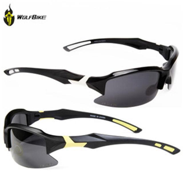 225556eecf WOLFBIKE Men Polarized Cycling Glasses Outdoor Sports Bicycle Glasses Bike  Sunglasses Goggles Cycling Motorcycle Eyewear 5 Lens