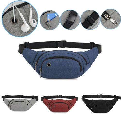 Durable Men Fanny Waist Pack Belt Hip Bum Military Tactical Running Pouch Bag Chest Packs Small Belt Bag Cool Fanny Packs